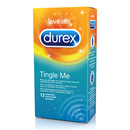 Durex Tingle Me Condooms 12 st