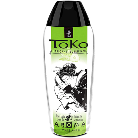 Toko Glijmiddel - Pear & Exotic Green Tea