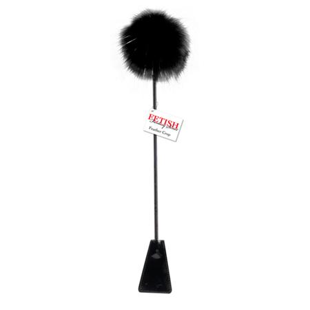 Rijzweep Met Kietelaar - Zwart