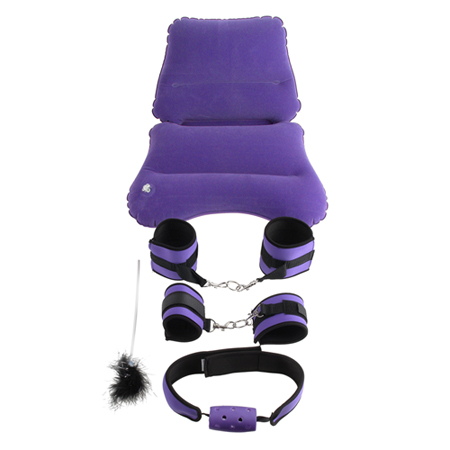 Purple Pleasure Bondage Set