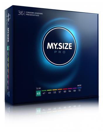 MY.SIZE Pro 45 mm Condooms - 36 stuks