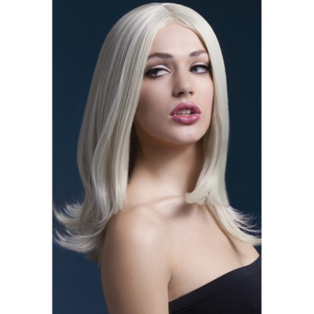 Lange Perücke - Blond