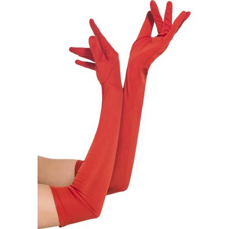 Lange Handschoenen - Rood