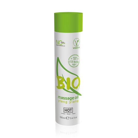 HOT BIO Massageöl Ylang Ylang - 100 ml
