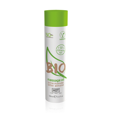 HOT BIO Massageöl Bittermandel - 100 ml