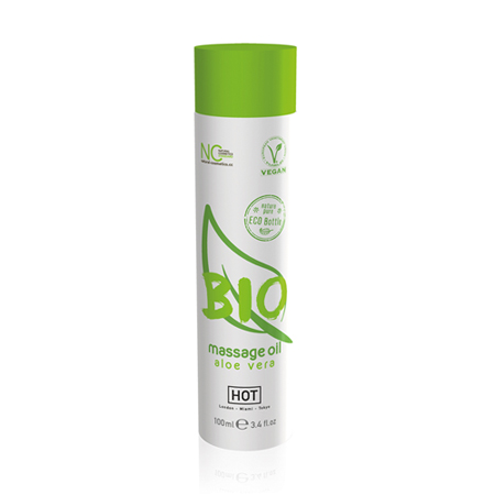 HOT BIO Massageolie Aloe Vera - 100 ml