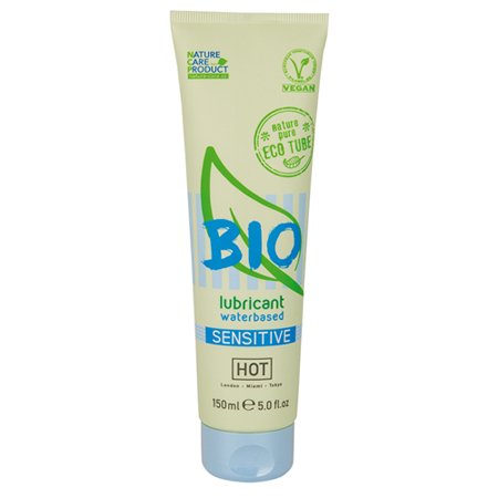 HOT BIO Sensitive Waterbasis Glijmiddel - 150ml