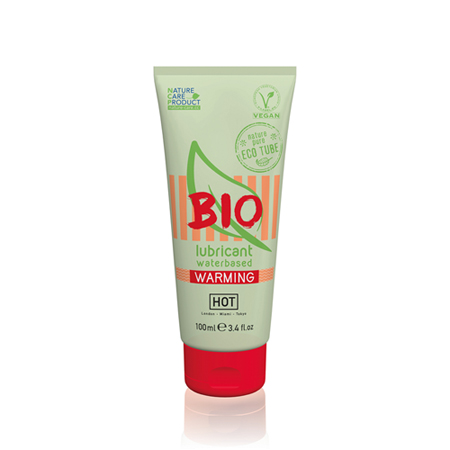 HOT BIO Warming Waterbasis Glijmiddel - 100 ml