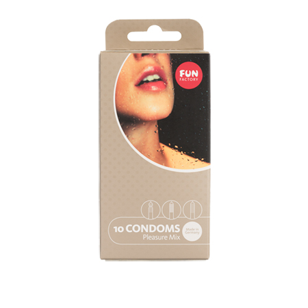 Pleasure Mix Kondome - 10er Packung