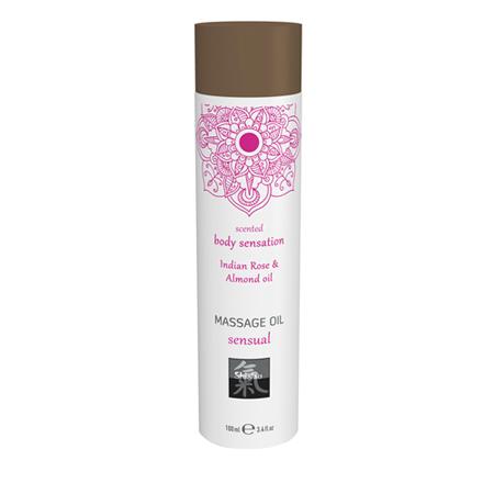 Sensual Massage Olie - Indiase Roos & Amandel