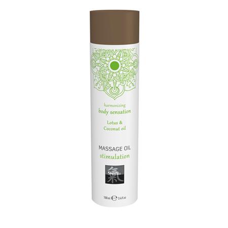 Massageöl Stimulation - Lotus und Kokosnuss