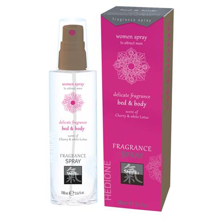 Pheromone Bed & Body Duft für Frauen - Kirsche und weißer Lotus