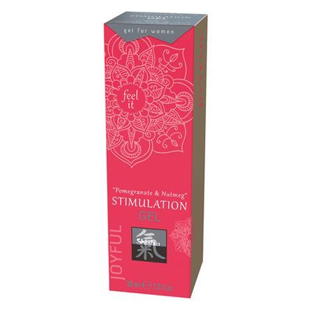 Stimulationsgel - Granatapfel und Muskat