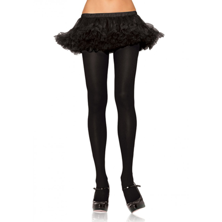 Basic zwarte panty