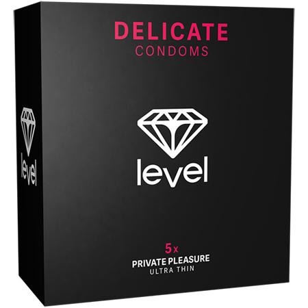 Delicate Condooms - 5 Stuks