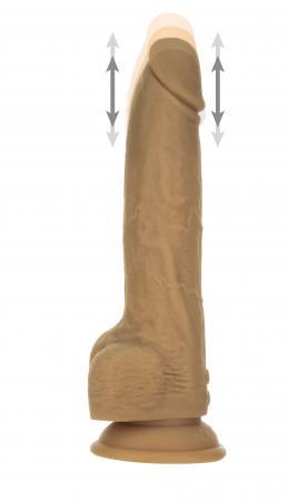 Naked Addiction Realistische Stotende  Dildo met Afstandsbediening - 23 cm