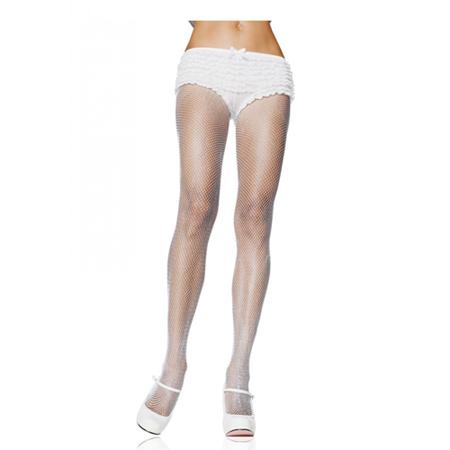 Nylon Visnet Panty - Wit