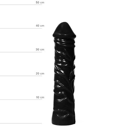 Realistische XXL Dildo 33 cm - Zwart