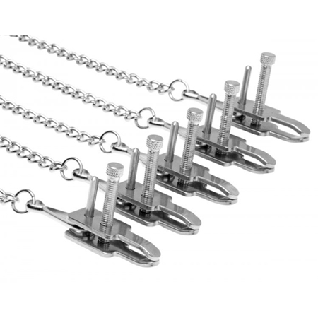 Game of Chains extreem bondage systeem met klemmen