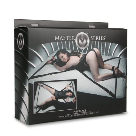 Interlace Bett Bondage-Set