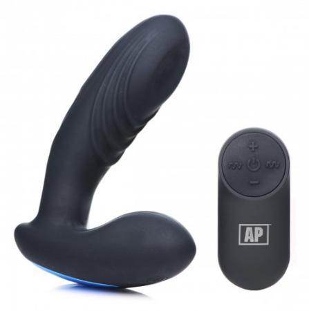 P-Thump Prostatavibrator mit Fernbedienung
