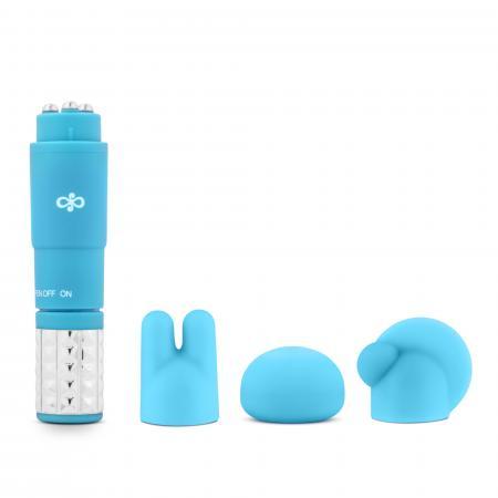 Rose - Luxe Set Met Clitoris Stimulator - Blauw