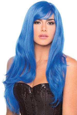 Burlesque-Perücke - Blau