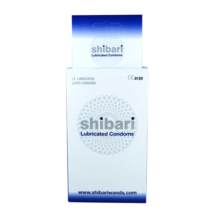 Shibari Condooms Met Glijmiddel - 12 Stuks