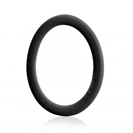 Nexus - Enduro Siliconen Cockring - Zwart