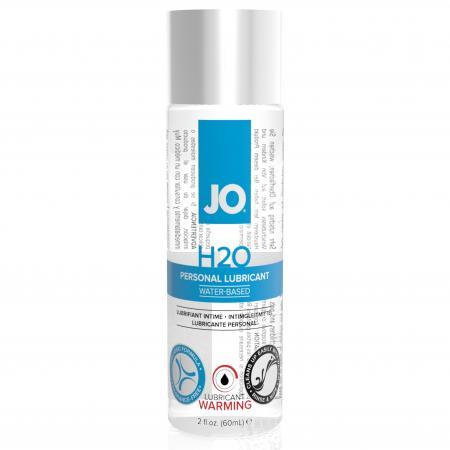 System JO - H2O Verwarmend Glijmiddel - 60 ml