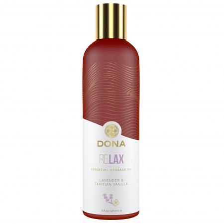 Dona - Essential Vegan Massage Olie Relax Lavendel & Tahitiaanse Vanille