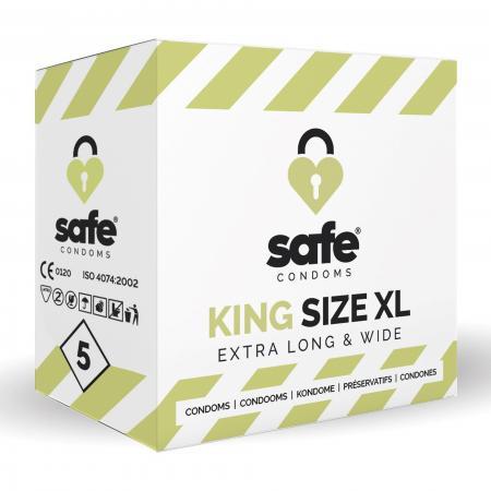 SAFE - Condooms - King Size XL - 5 stuks