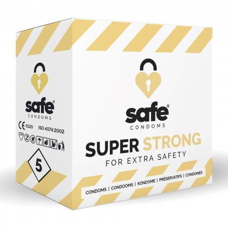SAFE - Condooms - Super Sterk - 5 stuks