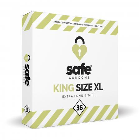 SAFE - Condooms - King Size XL - 36 stuks