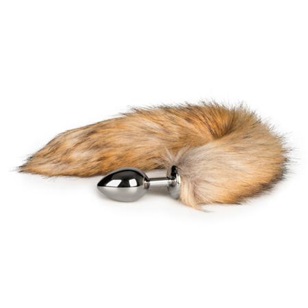 Mittelgroßer Fuchsschwanz-Analplug