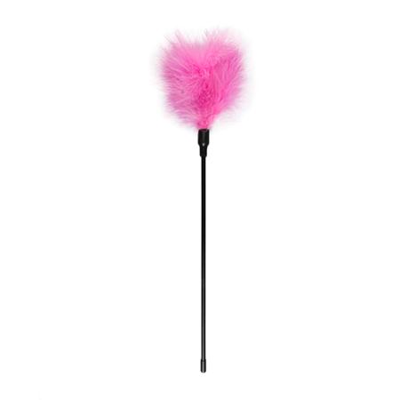 Pinkfarbener Tickler - Lang