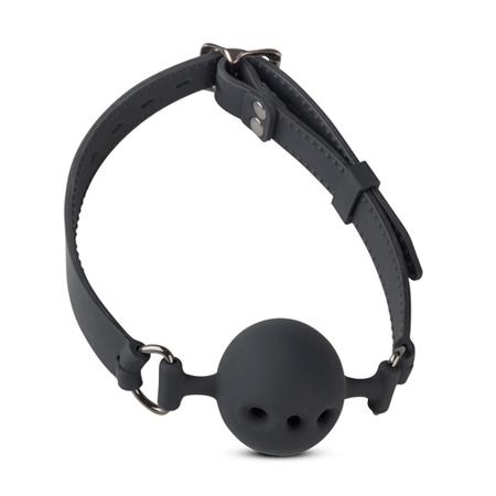 Siliconen Ball Gag Met Luchtgaatjes - Medium