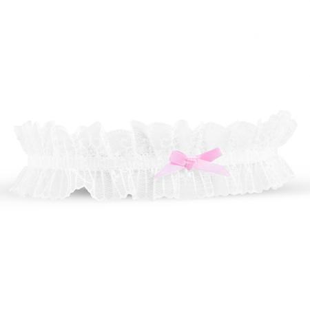 Kousenband - Wit