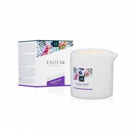 Exotiq Massagekaars Violet Rose - 60g