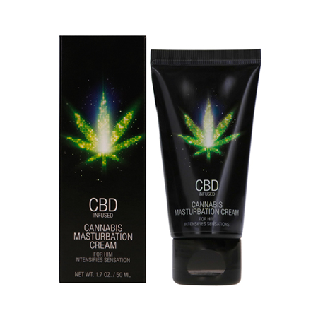 CBD Cannabis Masturbatiecrème voor hem - 50 ml