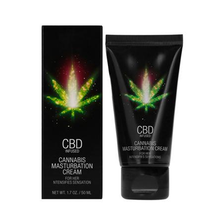 CBD Cannabis Masturbatiecrème voor haar - 50 ml