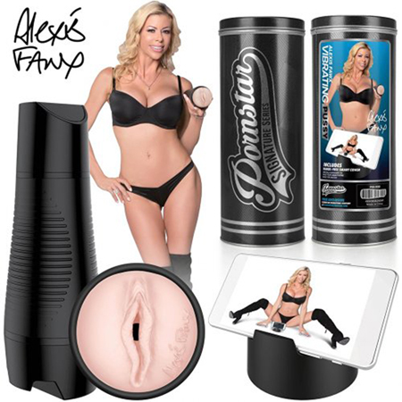 Pornstar Series - Alexis Fawx aufladbare vibrierende Vagina