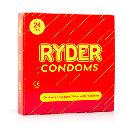 Ryder Condooms - 24 Stuks