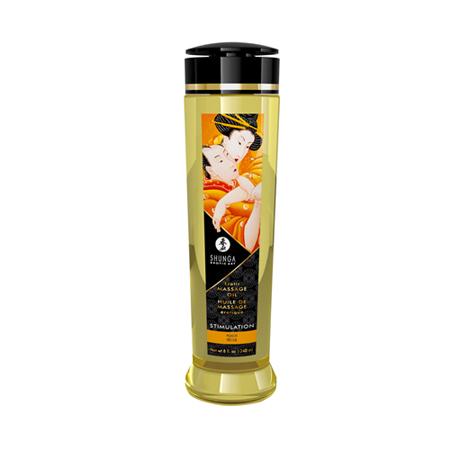 Shunga - Stimulation/Peach Massageöl - 240 ml
