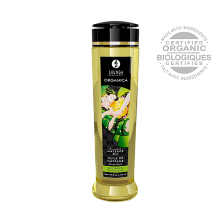 Organica Massage Olie Green Tea 240 ML
