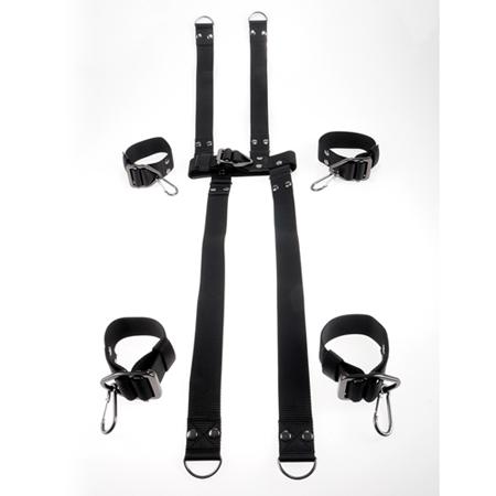 Command Hogtie & Halsband Set
