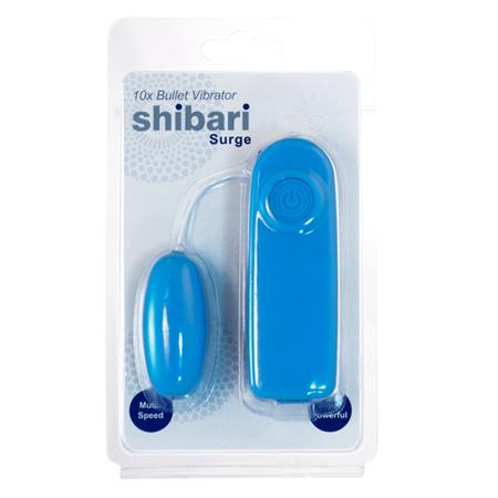 Shibari Surge Vibratie-Ei - Blauw