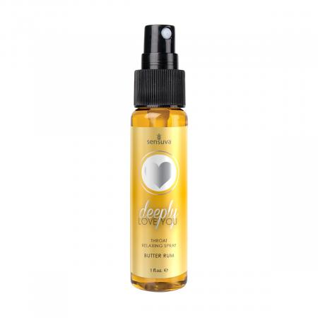 Deeply Love You Throat Relaxing Spray - Butter Rum