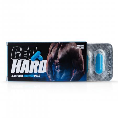 Get Hard! Erectiepillen - 4 Stuks