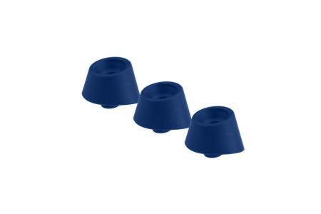 Womanizer Opzetkapjes Voor Duo - Maat M - Blueberry - 3 St.